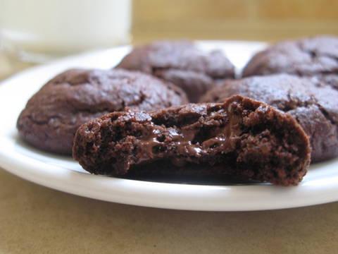 עוגיות שוקולד פאדג'יות