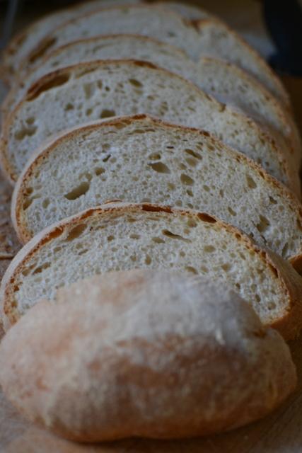 לחם שאור לבן