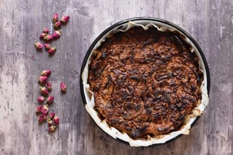 פשטידת בצלים ופטריות דיאטטית