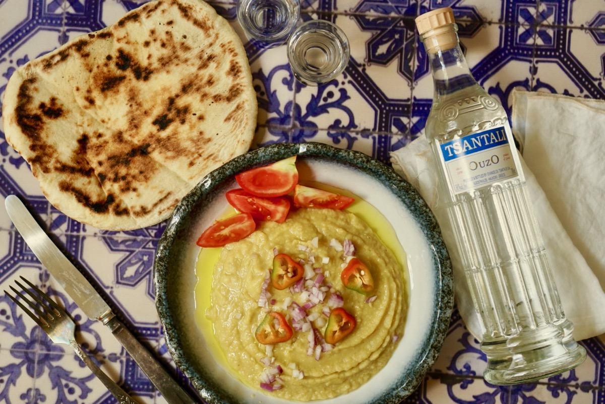 פאבה – ממרח אפונה צהובה יווני