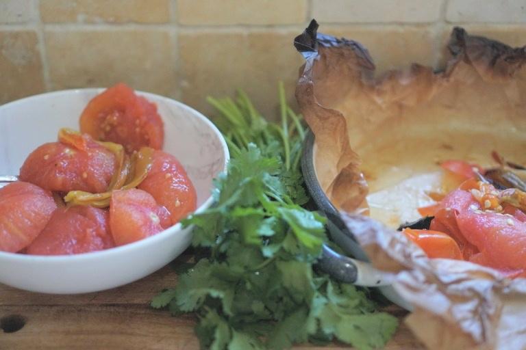הכנת סלסת עגבניות ביתית