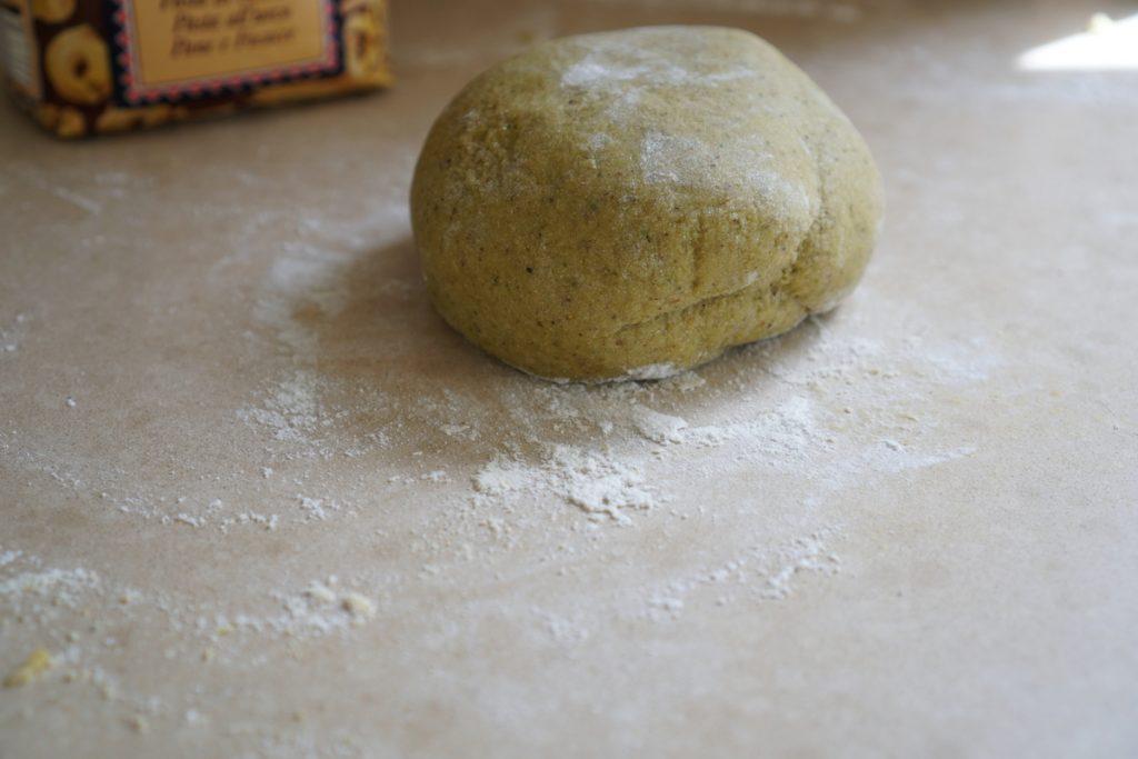 הכנת בצק פסטה